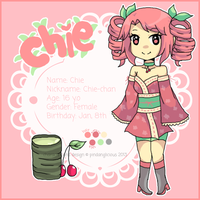 New OC: Chie XD by pindanglicious