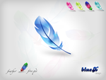 FREE Feather Icon PSD by BlueX-Design