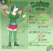 Application PV -Misa the Flygon by FallenRichardBrook