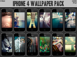 iPhone 4 Wallpaper Pack by midnighttokerkate