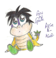 Avie E. Koopa  NEW OC by Proshi