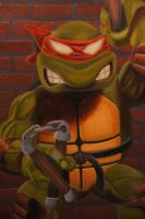 Micheal Angelo close up by luckyseven11779