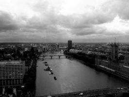 view of thames river by cottoncandycookie