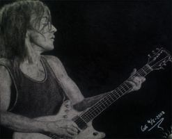 Malcolm Young by GoldenYears