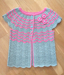 Cotton Vest for Girl by ToveAnita