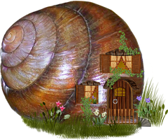 snail fantasy by roula33