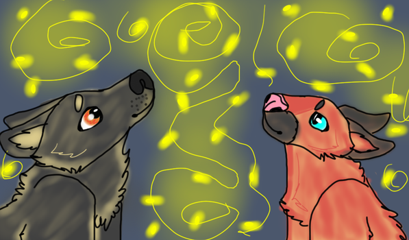 Fireflies by Rainstorm1414