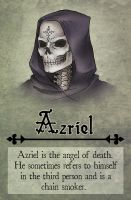 Azriel [character card] by Michelangeline