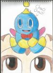 Cheese The Chao and Cream The Rabbit by Megabitron
