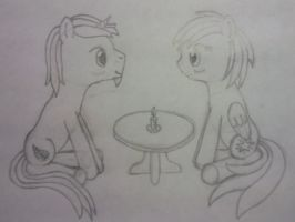 Candlelight date by dredaich