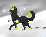 .:Request:. for Greenthewolf by snowpups123