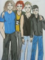 MCR-The Outsiders?.... by JoHoeDi
