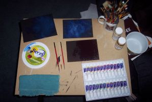 space-painting workstation by Anavar