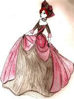 the queen of hearts not a tart by Harlequin89