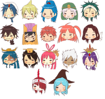Magi Icon Family by junko-in-the-box