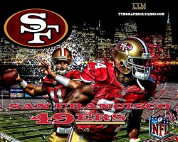 San Francisco 49ers Wallpaper by tmarried