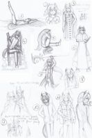 KQ: Ikiris' sketch dump by Kitsunka