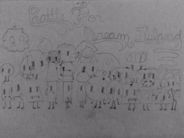 Whole cast of BFDI and BFDIA! by FreesmarterAnne