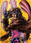 Gambit commissioned card by RayDillon