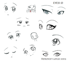 eyes by ChibiPandaMonster