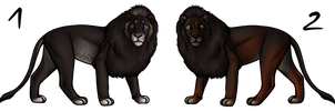 Lion Adoptables OPEN by i3nici
