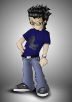 Me in anime by Tkdflash