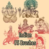 Indian PS Brushes by petermarge