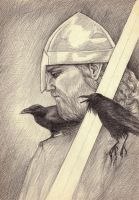 Hugin and Munin by monbaum