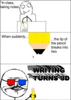 Writing 3d! by cosenza987