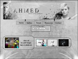 ahmed weblayout 5 by AhmedART