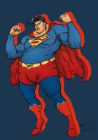 The Big Superman - Color Practise by Sunny-X-Ray