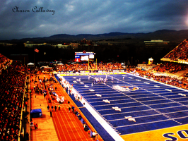Boise State University by The-Real-Chasen