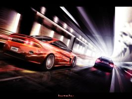 Eclipse Vs. Calibra by CrashDesign