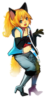 VOCALOID{ENGLOID] Daina fullbody hits the stage by CrierLes