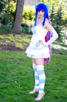Stocking angel cosplay by Injectable