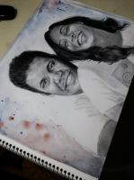 commissioned pencil portrait by vipinkabadi