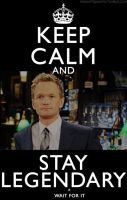 Keep Calm and Stay Legendary by JuanitoTheVampire