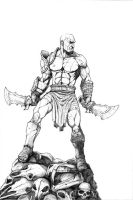 Kratos Pencils by JZINGERMAN