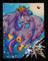 ACEO- Alicorn Sparkle by ShouYume