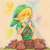 Ocarina Of Time: Sweet Fairy Lullaby by NatSilva