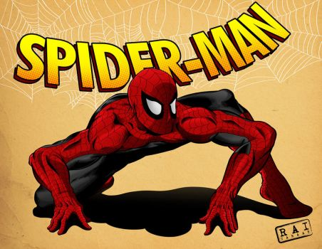 Spiderman by castortroy3497