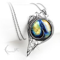 MYSTRLIX - silver and labradorite by LUNARIEEN