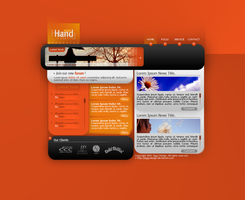 YourHand Webdesign by JiggyDesign