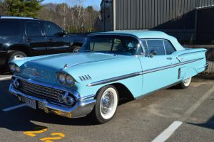 1958 Chevrolet Impala Convertible III by Brooklyn47