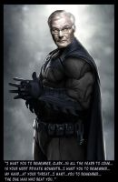 Adam West Batman by spicemaster