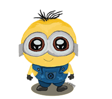 Despicable Me Minion by ily4ever95