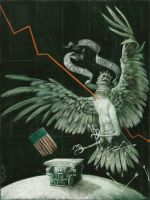 Fall of the Green Harpy by s-caruso