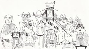 Rango's Posse by Number1Sleuth