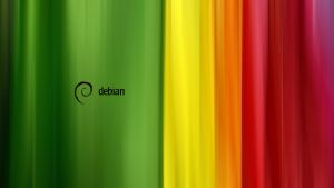 Debian stripes HD 1920x1080 by bulwiarz