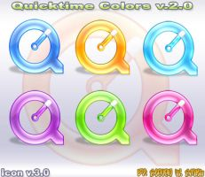 Quicktime Colors v.2.0 by Steve-Smith